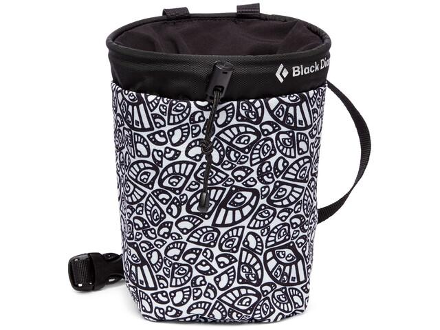 Black Diamond Gym Chalk Bag M/L, biały